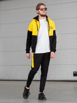 Чоловічий спортивний костюм BERSENSE DOUBLE жовтий, 164