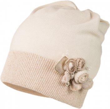 Демисезонная шапка Jamiks VIOLA-1 50 см Кремовая (5903024112276)