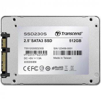 Накопитель Transcend SSD230S 512 GB (TS512GSSD230S) (WY36dnd-140050)
