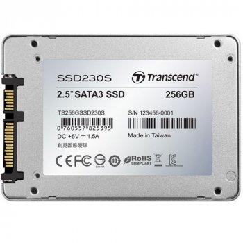 Накопитель Transcend SSD230S 256 GB (TS256GSSD230S) (WY36dnd-140074)