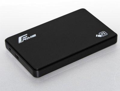 """Внешний карман Frime для HDD/SSD 2.5"""" SATA USB 2.0 Black (FHE10.25U20)"""