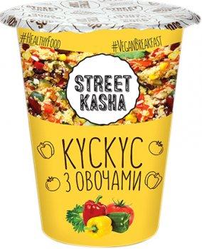 Упаковка кускусу Street Kasha з овочами 50 г х 6 шт. (8768137287290)