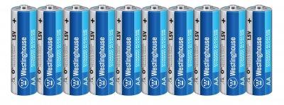 Щелочная батарейка Westinghouse Dynamo Alkaline AA/LR6 10 шт (889554000410)