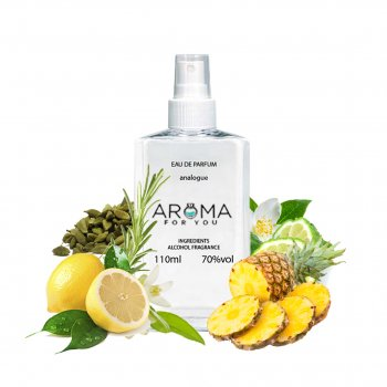 Парфюмированная вода для мужчин Aroma4you №26 (версия Chrome Azzaro) 110 мл