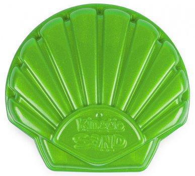 Набір піску для дитячої творчості Kinetic Sand Мушля Зелена (71482G)