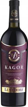 Вино Lustdorf Кагор красное крепленое десертное сладкое 0.75 л 16% (4820189291848)