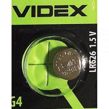 Батарейка для часов VIDEX AG4 LR626 Alkaline (1 шт)
