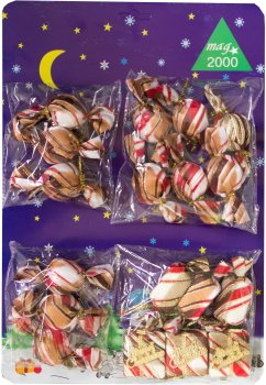 Набір ялинкових іграшок Маг2000 Подарунковий набір у блістері 26 х 38 см (470624) (5102681470624)