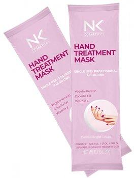 Перчатки с маской для рук NK Cosmeticos Hand mask Экспресс маникюр лечебные 20 г (7897475801286)