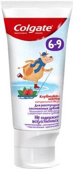 Детская зубная паста Colgate с фтором Клубника-мята от 6 до 9 лет 60 г (6920354825590)
