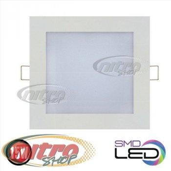 Світильник світлодіодний вбудований Horoz Electric Slim/Sq-15 15Вт(~120 Вт) 6400К квадрат (056 005 0015)