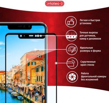 Захисне скло Intaleo Full Glue для Samsung Galaxy A71 (A715) Black (1283126497186)