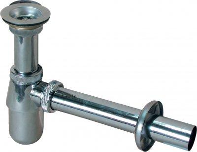 Сифон для раковины PREVEX со сливной трубой 32 мм латунный (A122M32M-01)