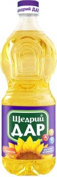 Масло подсолнечное Щедрий Дар рафинированное витаминизированное 750 мл (4820078576087)