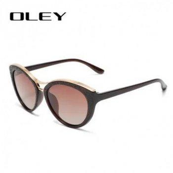 Женские солнцезащитные очки OLEY с поляризационным покрытием, Original (OL 4344 К)