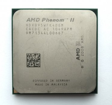 Процесор AMD Phenom II X4 B95 3,0 GHz sAM3 Tray 95w (HDXB95WFK4DGM HDXB95WFK4DGI) Deneb Б/У