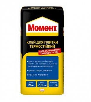 Клей термостійкий Момент 25 кг (11781854)