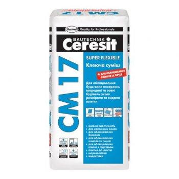Клей еластичний Ceresit СМ-17 25 кг (10076822)