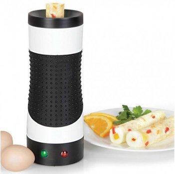 Вертикальная Омлетница Rollie Egg Master New быстрого приготовления с антипригарным покрытием Черно-белый