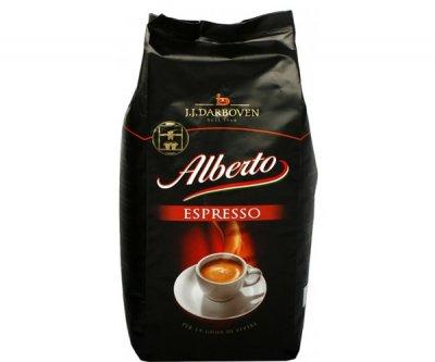 "Кофе в чалдах J.J.Darboven- Alberto ""Espresso"" 36шт, 252 гр 100% Арабика Германия"
