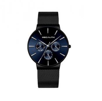 Годинники чоловічі Megalith 0047M-6 Black-Blue