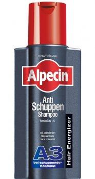 Шампунь Alpecin A3 Hair Energizer от выпадения волос против перхоти 250мл