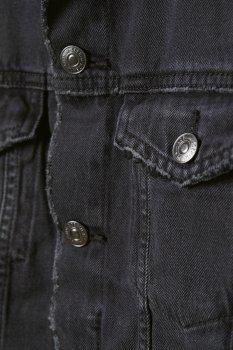 Джинсова куртка H&M 6138268 Темно-сіра