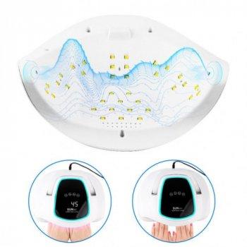 Ультрафиолетовая лампа для сушки ногтей с ручкой SUN BQ-6T 108 Вт LED Lamp Pro UV LED White (00626)