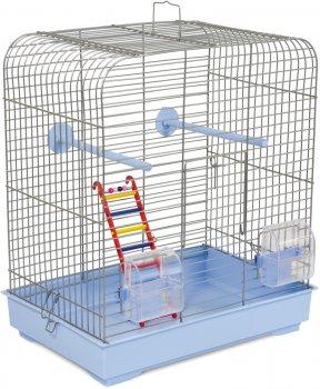 Клетка для птиц Природа Белла 37 х 25 х 37 см Светло-голубая (4823082414864)