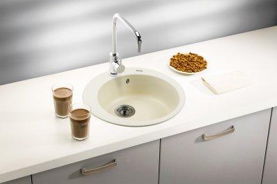 Кухонная мойка VENTOLUX Fabia Crema (2059765958154)