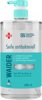 Антибактериальное мыло Waider для тела и рук 1 л (4823098410935)