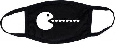Защитная маска для лица Manatki многоразовая однослойная Pac-Man (п5098) (2000000175119)