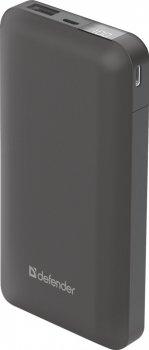 УМБ Defender ExtraLife 16000S, 16000mAh LCD Grey (83666)