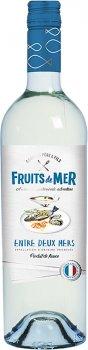 Вино Gourmet Pere & Fils Fruits de Mer Entre Deux Mers белое сухое 0.75 л 11.5% (3500610121883)