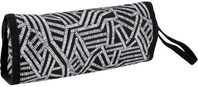 Пенал для девочек Kite City 1 отделение Черно-белый (K20-653-2)