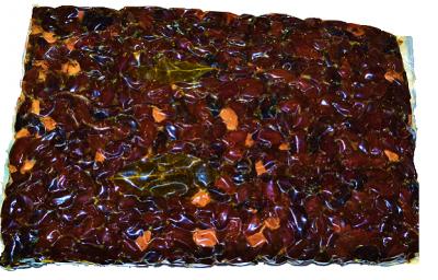 Оливки вяленые оливки PALLADA Домаскинос Блонд с/к 1кг черные