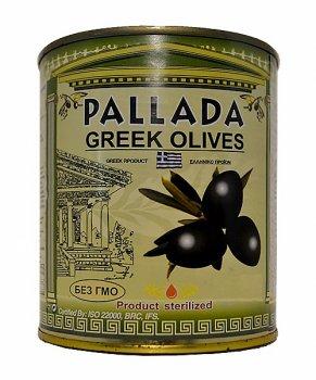 Маслины PALLADA Giants 141-160 (1 кг) б/к, ж/б