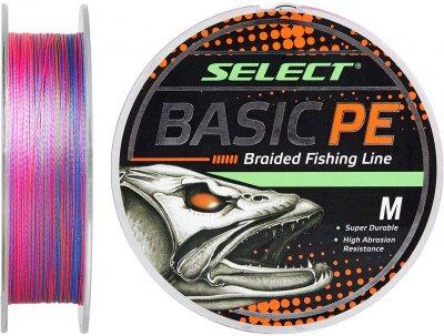 Шнур Select Basic PE 100 м 0.06 мм 3 кг Разноцветный (18703077)