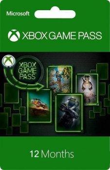 Підписка цифровий код Xbox Game Pass на 12 місяців | Всі Країни