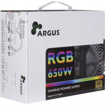 Блок живлення ПК Argus RGB-650CM II (RGB-650CM II)