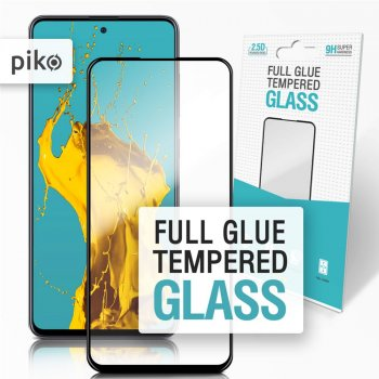 Захисне скло Piko Full Glue для Samsung Galaxy A51 (A515) Black (1283126496950)