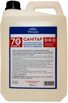 Антисептичний засіб Triuga Санітар з дезінфікувальною дією для рук 5 л (4820164640890)