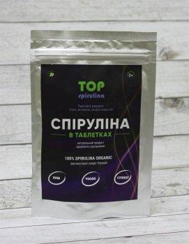 """Спіруліна в таблетках 100 грам """"ТОП Спирулина"""""""