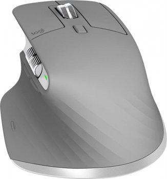Миша бездротова Logitech MX Master 3 (910-005695) Mid Grey USB