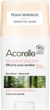 Дезодорант гелевый Acorelle органический Пряная свежесть 45 г (3700343040882)