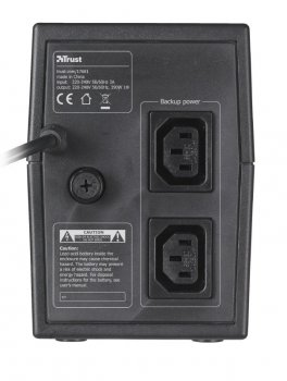 ДБЖ Trust Hexxon 600VA UPS Black