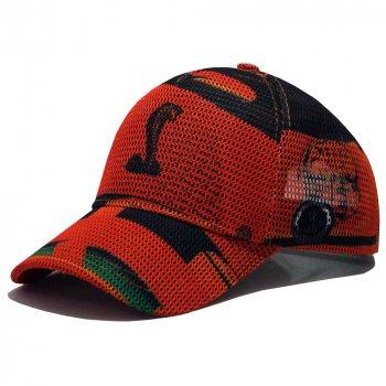 Бейсболка AMG Cobra Orange (Сетка) XL 0234