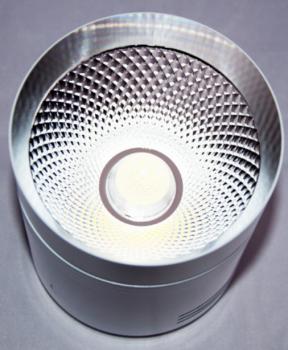 Світлодіодний світильник Feron AL542 18w білий-хром