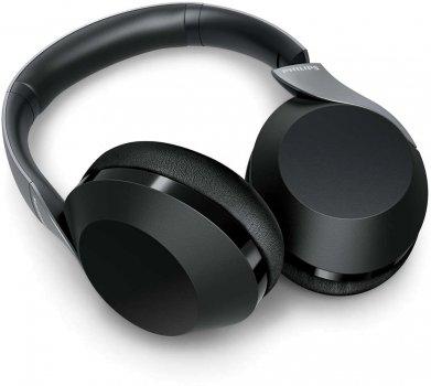 Наушники Philips Performance TAPH805 Over-Ear Wireless Hi-Res ANC Mic (TAPH805BK/00)