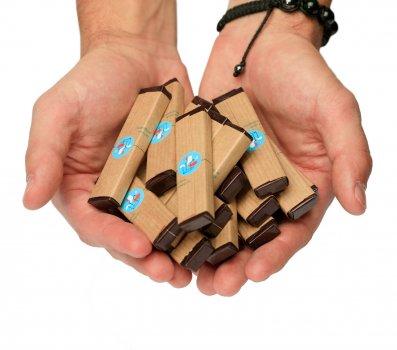 Шоколадный набор с предсказаниями Торба щастя